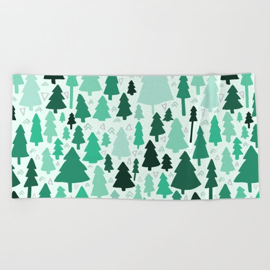 Wild & Woodsy Beach Towel