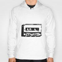 cassette Hoodies featuring cassette by Gabriel