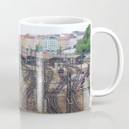Prague Train Station Coffee Mug