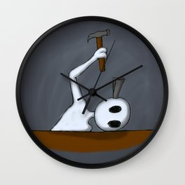 Splitting Headache Wall Clock