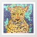 Leopard Lying In Wait by shannonsongs