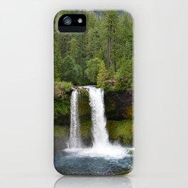 Koosah Falls Oregon iPhone Case