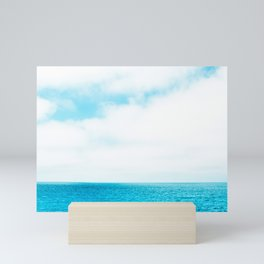 Wide Blue Sky Over Summer Beach Mini Art Print