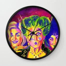 Hocus Pocus Sanderson Sisters Wall Clock