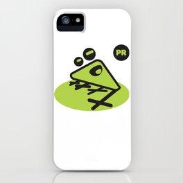 Coqui geometric iPhone Case
