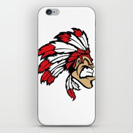 American indian man. Mascot. Kentucky. iPhone Skin