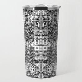 Ridiculously Intricate Digital Pattern Travel Mug