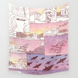 over head Wall Tapestry