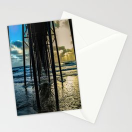 Sky Painting (Oceanside Pier) ~ 10-2015 Stationery Cards