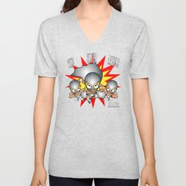The Silver Angels Unisex V-Neck