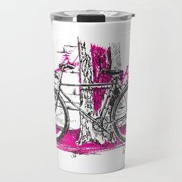 Lone Bicycle Travel Mug