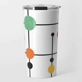 Mid Century Modern 1-4 Travel Mug