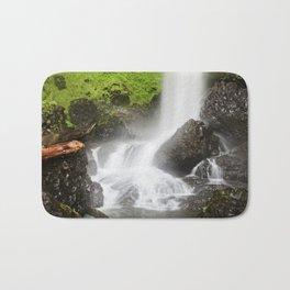 Pacific Northwest Adventure - Long Exposure Waterfall | Silver Falls Bath Mat