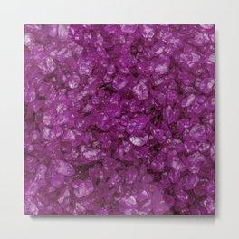 Small sparkling pebbles H Metal Print