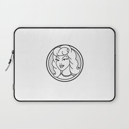 Haute Wanda Badge Laptop Sleeve