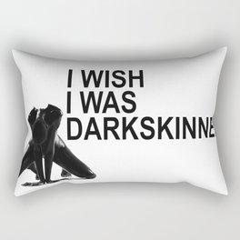 Dark is Beautiful: DARKSKINNED Rectangular Pillow