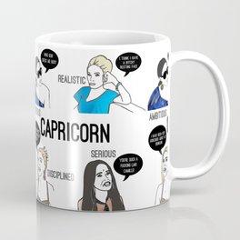 Capricorn- Bravostrology Series Coffee Mug