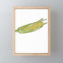 Corn Star Funny Meme Framed Mini Art Print