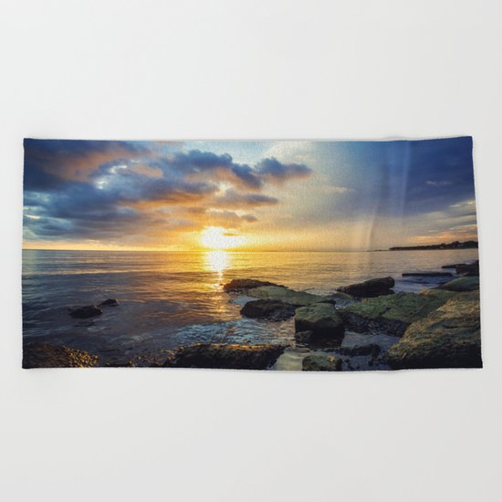 Converge Beach Towel