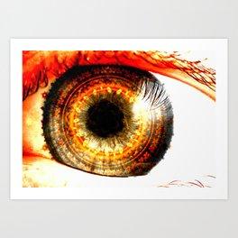 Fractal Eye Art Print