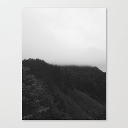Moody Oregon Coast Canvas Print