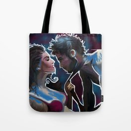 Lusty Couple Tote Bag