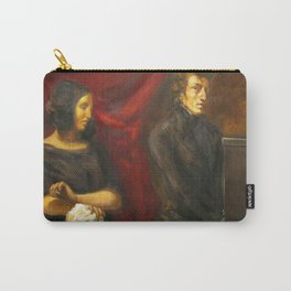 Eugne Delacroix - Portrait of Frederic Chopin and George Sand Carry-All Pouch