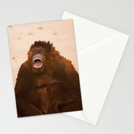 I only saw rainbows when the bandages came off/ Orangutan Stationery Cards