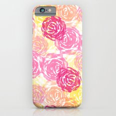 Watercolor Floral 1 Slim Case iPhone 6