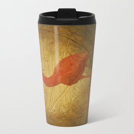 Red Heron Travel Mug