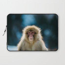 Snow Monkey Laptop Sleeve