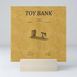 Toy Bank Patent 7 Mini Art Print