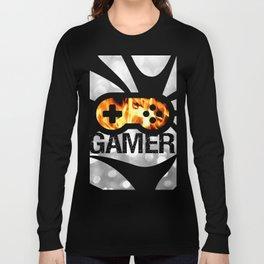 Gamer Flames BNW Long Sleeve T-shirt