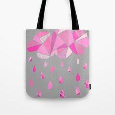 Fractured Pink Cloud Tote Bag