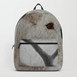 Winter Deer - JUSTART © Backpack