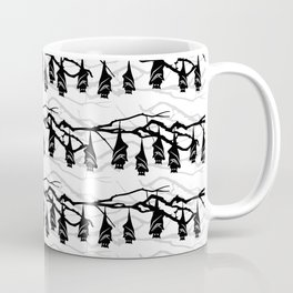 Bats hanging on tree : TM17046 Coffee Mug