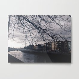 Liffey River Metal Print