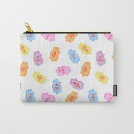 poe conversation hearts Carry-All Pouch