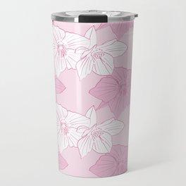 Pink Hellebores Travel Mug