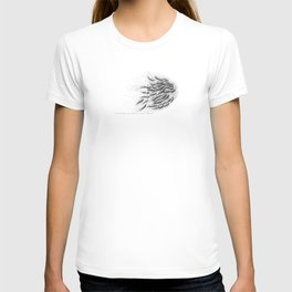 in the end starts a new beginning (salmon spawning, sequim, washington). T-shirt