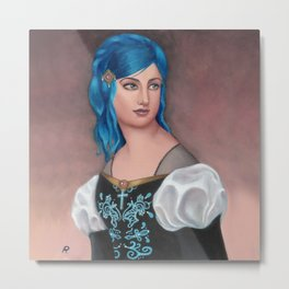 Frederica of Vienwray Metal Print