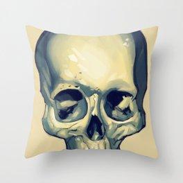 Bone Dude Throw Pillow