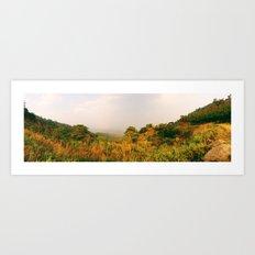 Scenic Steep Art Print