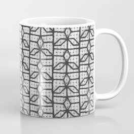 three point window grille design Coffee Mug