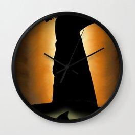 Shark Knight Wall Clock
