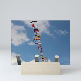 Nautical Flags Mini Art Print
