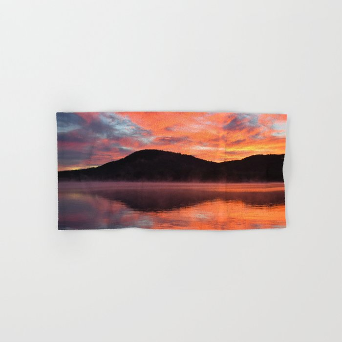 Sunrise Ripples Hand & Bath Towel