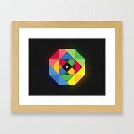 I am lightning Framed Art Print