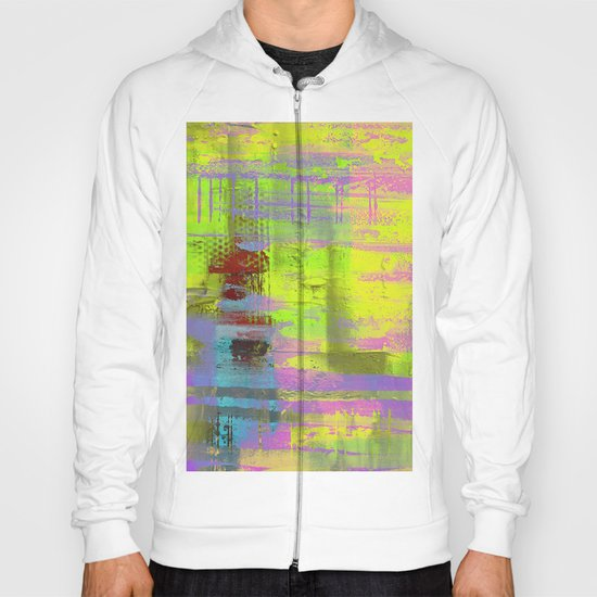 Abstract Thoughts 3 - Textured painting Hoody