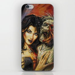 Zombie Love #1 by BAXA iPhone Skin